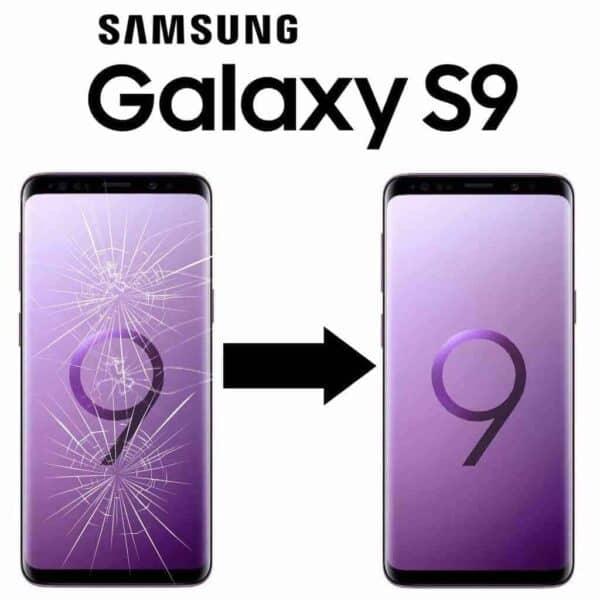 Výměna skla Samsung Galaxy S9