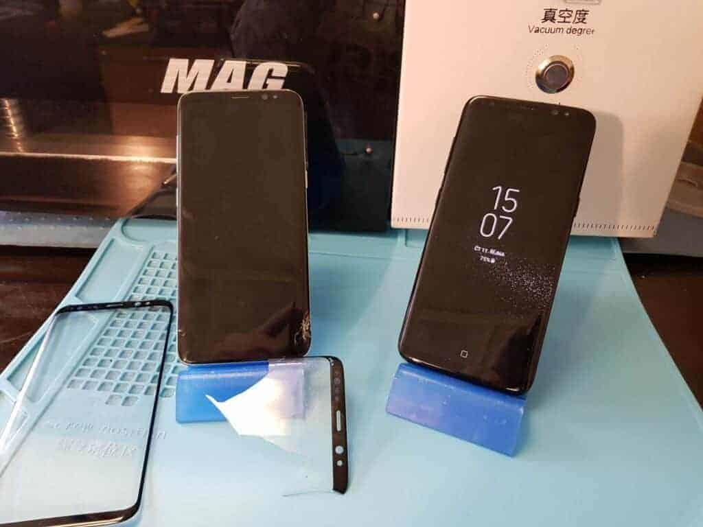 Výměna skla Samsung