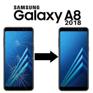 Výměna skla Samsung Galaxy A8 2018