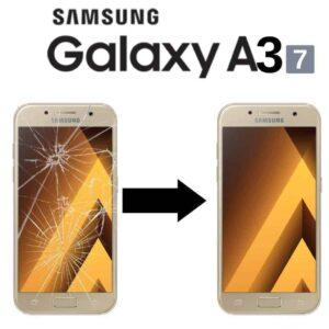 Výměna skla Samsung Galaxy A3 2017