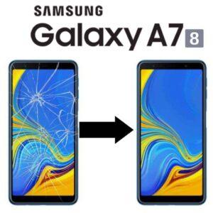 Výměna skla Samsung Galaxy A7 2018