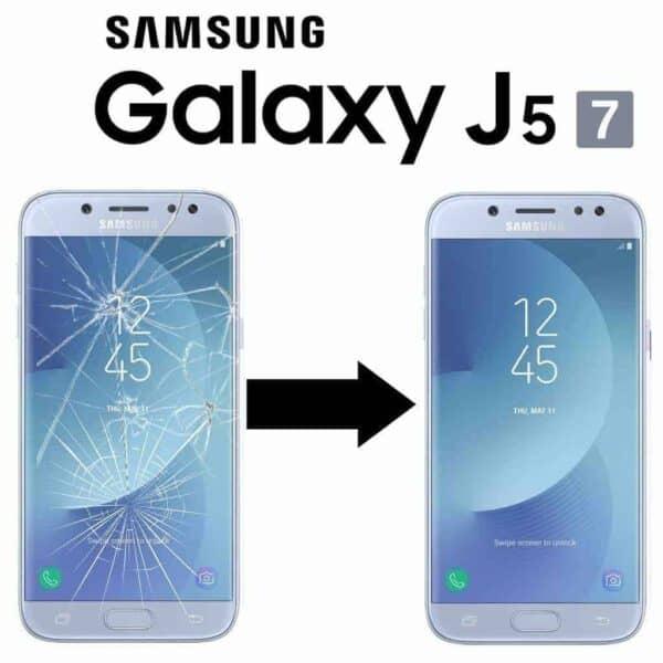 Výměna skla Samsung Galaxy J5 2017