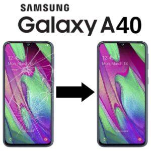 Servisní služba - Výměna skla Samsung A40