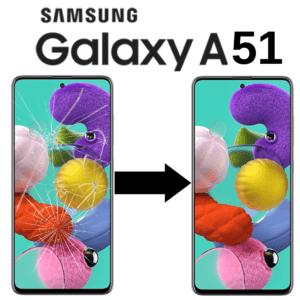 Výměna skla Samsung A51