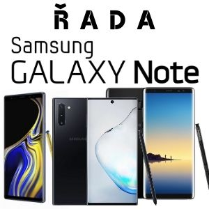 Výměna skla displeje - Řada Galaxy Note