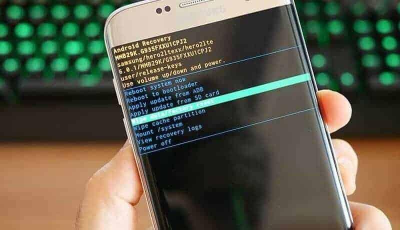 Obnova továrních dat Samsung