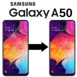 Výměna skla Samsung A50