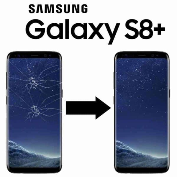 Výměna rozbitého skla displeje Samsung Galaxy S8+