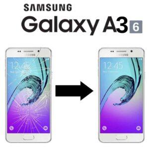 Výměna rozbitého skla displeje Samsung Galaxy A3 2016