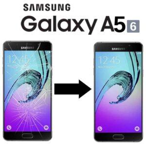 Výměna rozbitého skla displeje Samsung Galaxy A5 2016