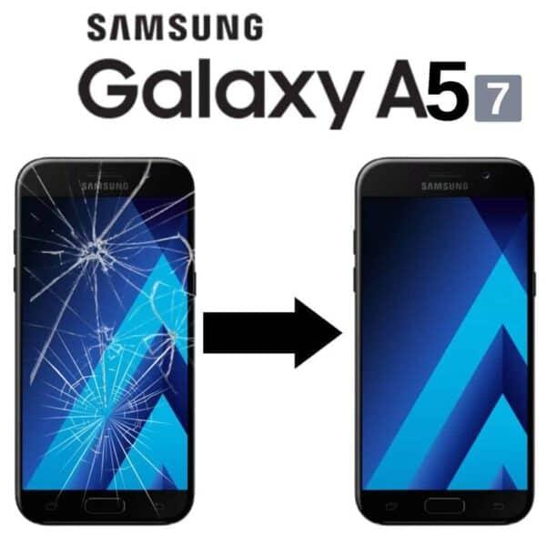 Výměna rozbitého skla displeje Samsung Galaxy A5 2017