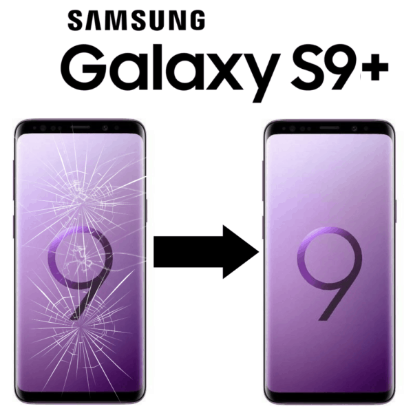 Výměna skla displeje Samsung Galaxy S9+